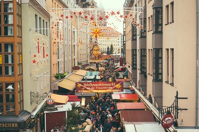 drážďany vánoční trhy