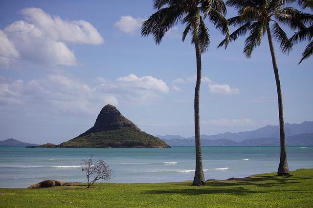 moře na Havaji