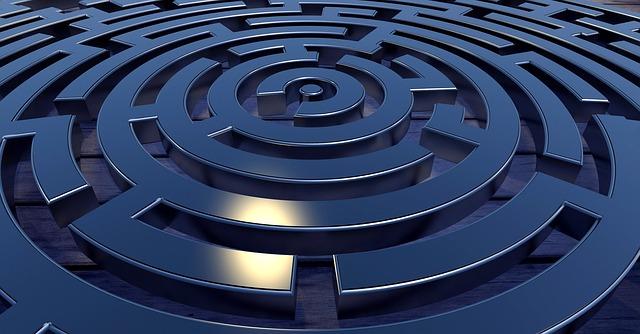 labyrint s cílem