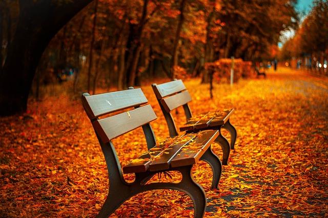 podzimní ulička