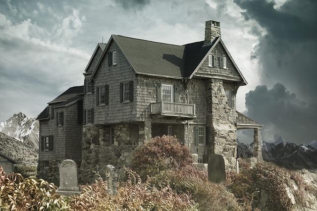 dům u hřbitova